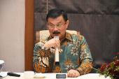 Direktur Jenderal, GTK Sumarna Surapranata , Ph.D,  memberikan arahan dan sambutan pada pembukaan lokakarya