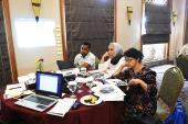 Suasana diskusi lokakarya kelompok literasi sains
