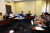 Suasana diskusi lokakarya kelompok finalisasi peta jalan GLN