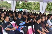 Suasana Gerakan Pengutamaan Bahasa Negara di Ruang Publik.