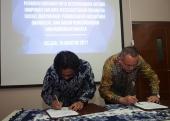 Kegiatan Penandatanganan MoU di Asosiasi Profesi HISKI dan Manassa, 15 Agustus 2017
