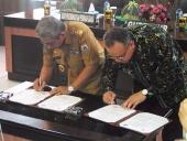Kegiatan Penandatanganan MoU di Pemprov Sulawesi Barat, 12 Desember 2017