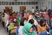 Pegawai Badan Bahasa yang hadir pada Peringatan Maulid Nabi Muhammad SAW 1438 Hijriah