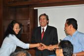 Serah Terima Jabatan di Badan Pengembangan dan Pembinaan Bahasa 2011