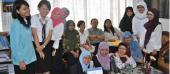 Mahasiswa FKIP Bahasa Indonesia Universitas Sebelas Maret Surakarta Mengakhiri Magang di Badan Bahasa