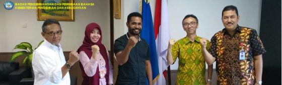 Jajaki Kerja Sama, Badan Bahasa Silaturahmi dengan Badan Nasional Penanggulangan Bencana