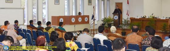 HPI Gelar Kongres ke-12 di Badan Bahasa