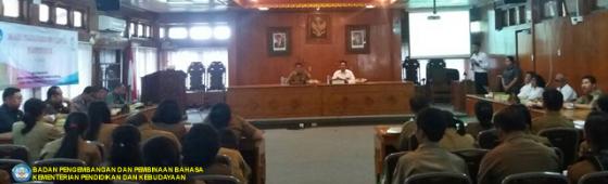 Lokakarya Penggunaan Bahasa Media dalam Ruang di Gianyar, Bali