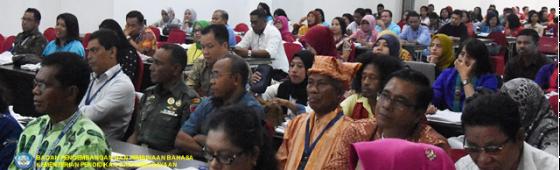 Kantor Bahasa Maluku Gandeng Pemda, DPRD, Akademisi, dan Komunitas Gelar Kongres dan Lokakarya Pelestarian Bahasa Daerah