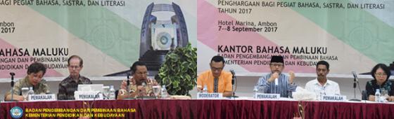 Kongres Bahasa Daerah Maluku Hasilkan Rekomendasi untuk Gubernur
