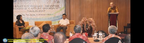 Kantor Bahasa NTT Gelar Rakor dengan Pemerintah Kabupaten/Kota se-Provinsi NTT