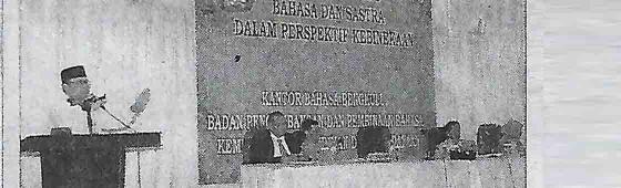 Utamakan Bahasa Indonesia di Ruang Publik