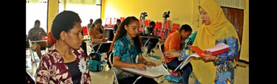 Pemartabatan Bahasa Indonesia di Papua melalui UKBI