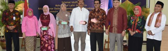 Halalbihalal Keluarga Besar Badan Bahasa, PPSDK, 5 Juli 2017.