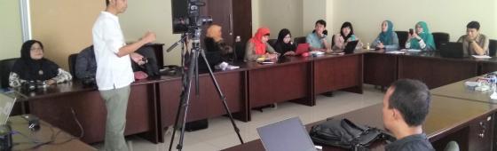 Badan Bahasa Gelar Pelatihan Pengayaan Bahan Koleksi Laboratorium Kebinekaan Bahasa dan Sastra