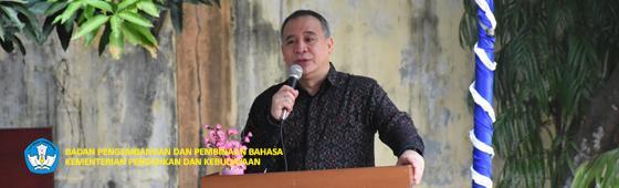 Peresmian Gedung Prof. Dr. Djantra Kawi, Balai Bahasa Kalimantan Selatan