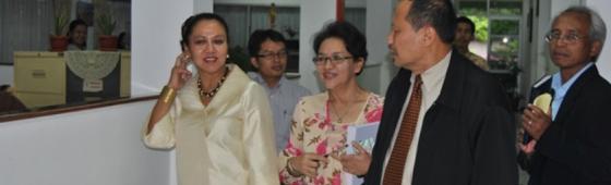 Wamendikbud Bidang Kebudayaan Mengunjungi Badan Bahasa