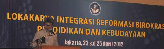 Sekjen Kemendikbud Menutup Lokakarya Integrasi Kebudayaan