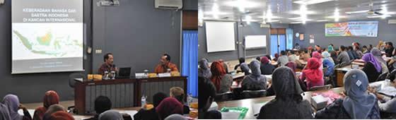 Seminar Internasional Pelantra 2012 Mengusung Tema Keberadaan Bahasa dan Sastra Indonesia di Kancah Internasional