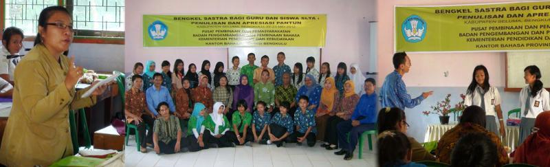 Menulis dan Mengapresiasi Pantun bagi Guru dan Siswa SLTA di Bengkulu